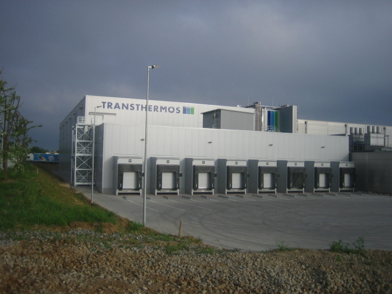 Erweiterung Tiefkühlhalle – Markgröningen